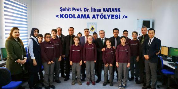 Nevşehir Şehit Prof. Dr. İlhan VARANK kodlama atölyesi açıldı