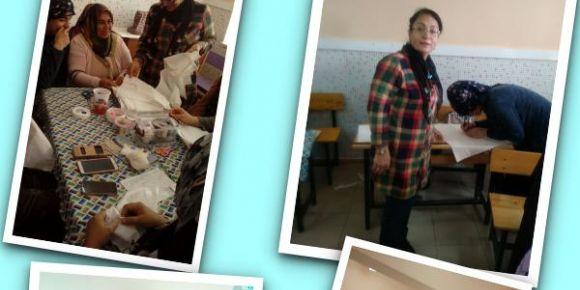 Yalıköy'lü kadınlar  meslek kursları İle geleceğe hazırlanıyor
