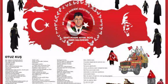 15 Temmuz Demokrasi Şehitlerimizi Unutmadık