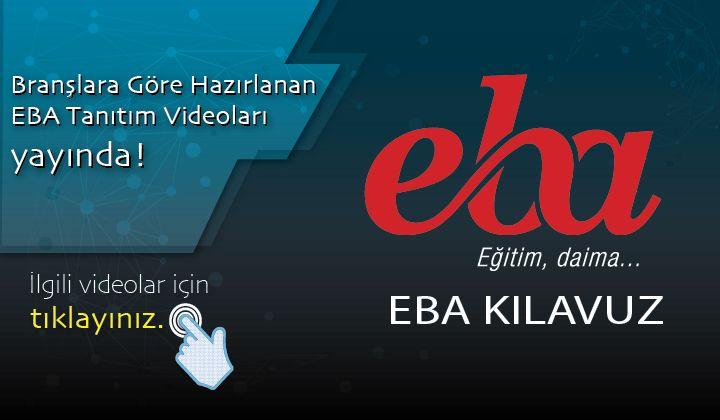 EBA Branş Bazlı Tanıtım Videoları