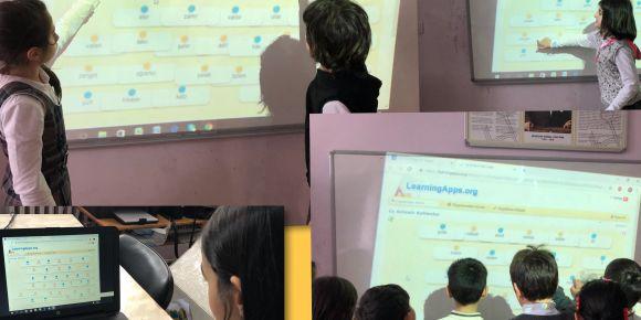 3/A sınıfı web2 araçlarını  kullanmayı öğreniyorlar