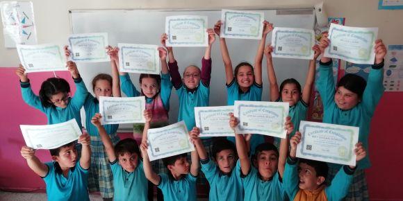 Yeniköy ilkokulu kodlama haftası etkinlikleri