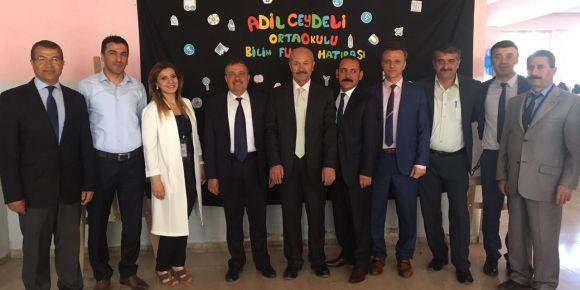 Aziz Sancar'ın İzinde yeni  nesil bilim okulu Adil Ceydeli Ortaokulu