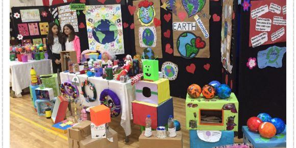 Save The Planet Projesi Yıl Sonu Sergisi
