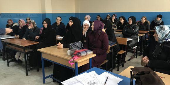 Okulumuzda veli toplantısı