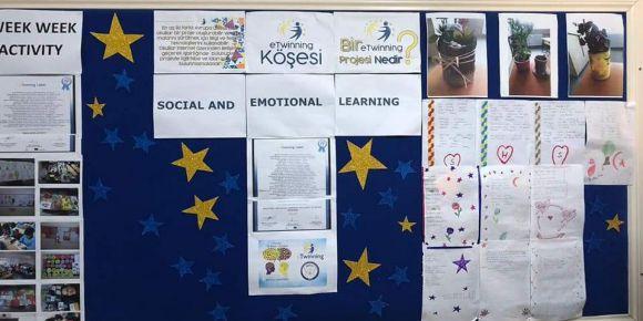 Ali Kuşçu Ortaokulu - e-Twinning Projesi