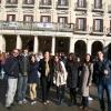 Manisa Anadolu öğretmen Lisesi  AB Projesi kapsamında İspanya - Vitoria'ya gitti.