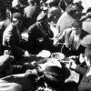 Ankara Beypazarı - hoyrat yemeği yiyenler