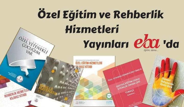 Özel Eğitim ve Rehberlik Hizmetleri Yayınları