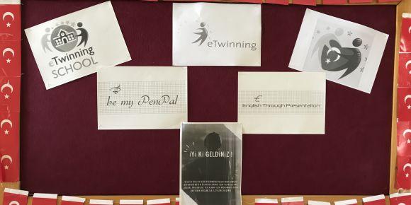 eTwinningde ulusal ve uluslararası projelere başladık