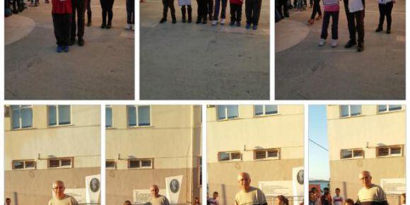 Urla Jale Necdet Özbelge İlkokulunda 1.Topaç Çevirme Turnuvası sonuçlandı