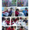 Urla jale Necdet Özbelge İlkokulunda haydi durma mandala etkinliği