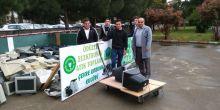 5 Haziran Dünya Günü için düzenlenen elektronik atık toplama kampanyasında büyük başarı