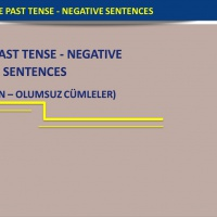 Simple Past Tense - Negative Sentences