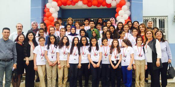 Seyhan Orhangazi Ortaokulu 4006 Tübitak Bilim Fuarı