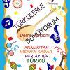 İpsala Cumhuriyet Anaokulu Türkülerle Büyüyorum projesinde
