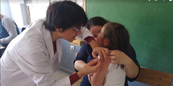 Okulumuzda aşı uygulaması yapıldı