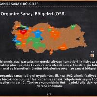 Türkiye'de Organize Sanayi Bölgeleri