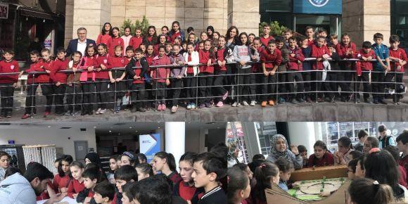 Vakfıkebir Fevziye İlk/Ortaokulu öğrencileri Tales Matematik Müzesini ziyaret etti