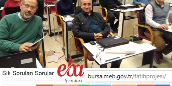 Bursa Fatih projesi eğitmenleri 2.dönem değerlendirme toplantısı yapıldı