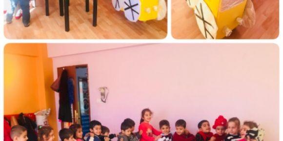 Umut Anaokulu Maket Mucitleri projesinde