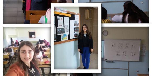 """İMKB Mesleki ve Teknik Anadolu Lisesi öğrencileri """"Sesini Paylaş"""" eTwinning Projesinde"""