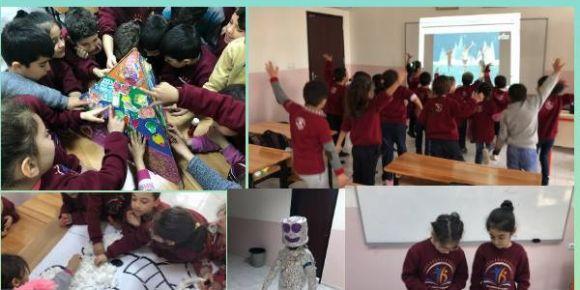 Yıldırım Bayazıt İlkokulu 2023 Tasarım ve Beceri Atölyeleri projesinde
