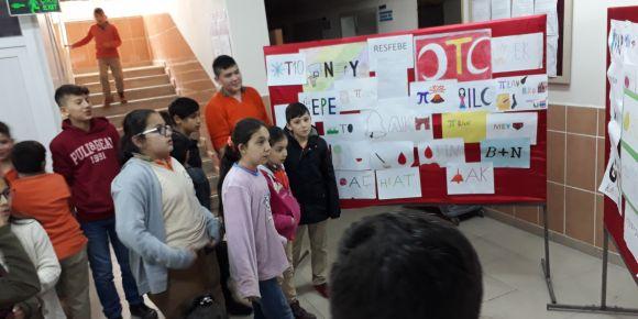 Çarşamba Anafartalar Ortaokulunda Resfebe Etkinliği