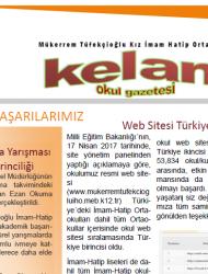 Kelam Okul Gazetesi