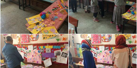 Şehit Hamdi Karagöz İlkokulunda eTwinning proje sergisi