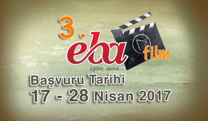 3. EBA Film Yarışma Başvurusu