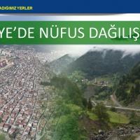 Türkiye'de Nüfus Dağılışı