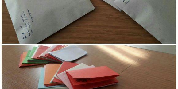 Boyabat Fatih Sultan Mehmet İmam Hatip Ortaokulu 6.sınıf öğrencilerinden mektup