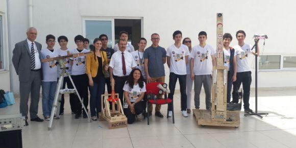 Genç mühendisler tasarım yarışması derecemiz