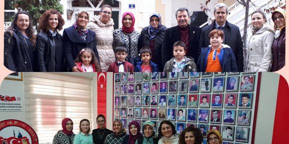24 Kasım Öğretmenler Günü sebebiyle Şehit Öğretmen Ali Yildiz Anıldı