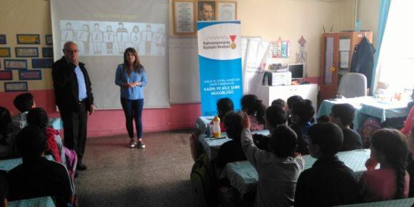Çocuk gelişimi semineri yapıldı