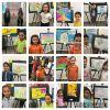 'Hayalimdeki Okul' resim/afiş sergisi açıldı