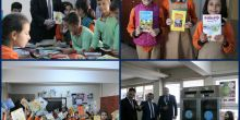Kitap Kumbaram projesi kapsamında toplanan kitaplar öğrencilere dağıtıldı