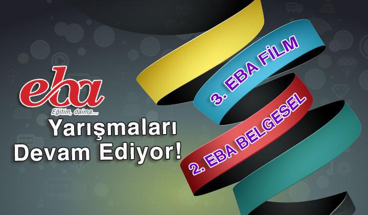 3.EBA Film ve 2.EBA Belgesel Yarışmaları Başlıyor