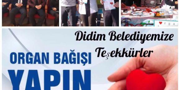 Aydın Didim Gazi Ortaokulu organ bağışı etkinlikleri