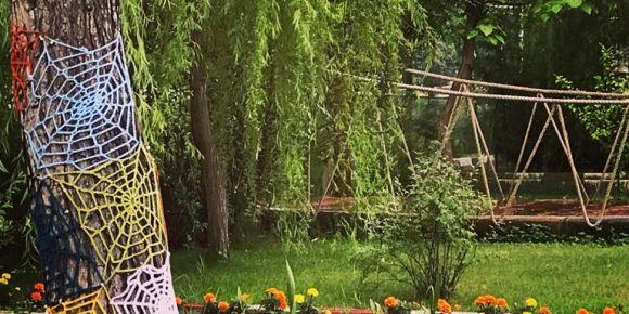 14 Eylül Anadolu Lisesinde küçük çapta bir tabiat parkı oluşturuldu