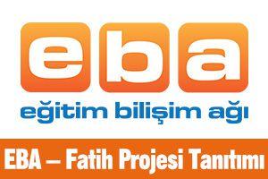 EBA - Fatih Projesi Tanıtımı