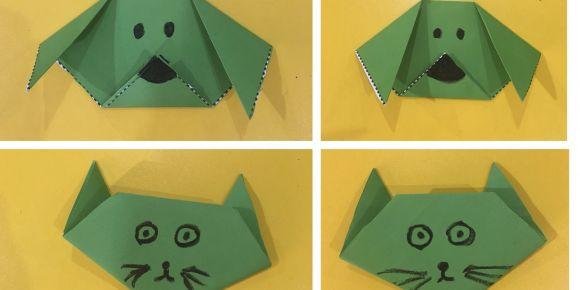 Kağıttan kediler ve köpekler