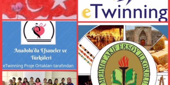 Anadolu 'da efsaneler ve türküleri e-twinning projesi
