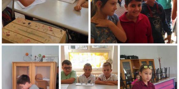 Urla Jale Necdet Özbelge İlkkulu okul öğrenci meclisi başkanını seçti