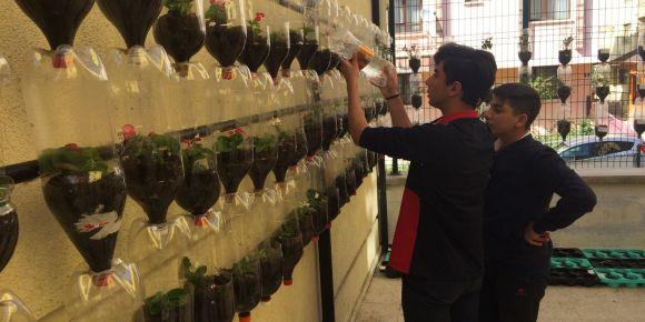 Okulumuzda Ekolojik Bahçe Projesi