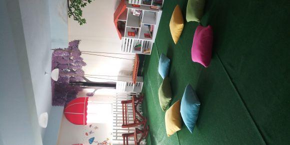Kütahya- Şeker İlkokulu 23 kasım 2018 de okul kütüphanesini acıldi