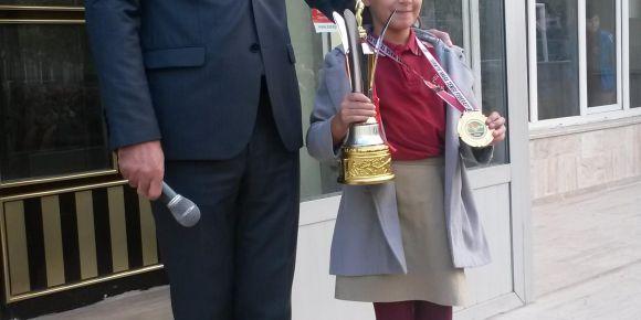 Türkiye birincisi öğrencimizin büyük başarısı