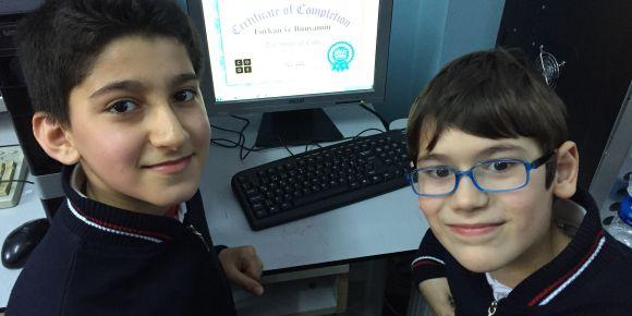 Fatih Atatürk İmam Hatip Ortaokulu kodluyor