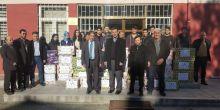 Vezirköprü Anadolu Lisesi Halep'e sessiz kalmadı